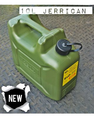 Cemo 10 Litre Petrol / Additive Canister (ExO Safety Canister)