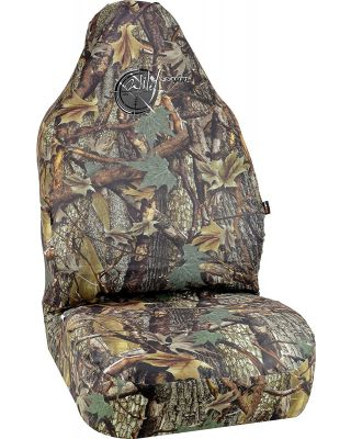 BELL WILD WOOD CAMO GREEN LEAF UNIVERSAL BUCKET SEAT COVER 22-1-56724-9