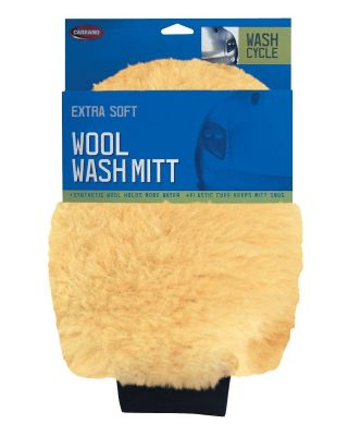 CARRAND EXTRA SOFT ACRYLIC WOOL WASH MITT 40306