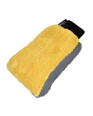 Carrand Microfiber 3-in-1 Wheel and Body Wash Mitt 40310