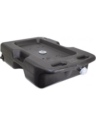 Hopkins FloTool Oil Drain Pan Tray Sump Container 54 Litre 42008MIE