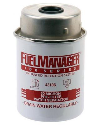 STANADYNE FUEL MANAGER FILTER ELEMENT ASSEMBLY 43106