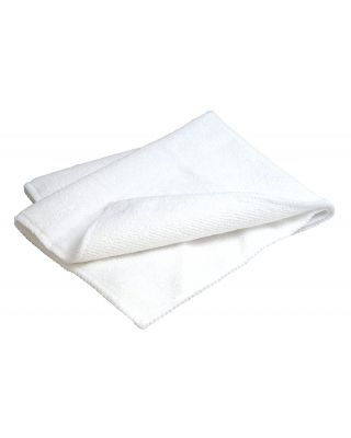 "Carrand 16"" x 12"" Microfiber Cleaning Cloth 45063"