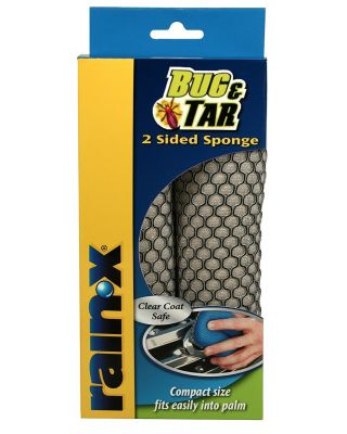 RAIN-X TWO-SIDED BUG AND TAR SPONGE 45122X