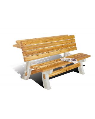 BUILD YOUR OWN 2X4 BASICS ANY SIZE FLIP TOP TABLE BENCH KIT (SAND) - 90110MI