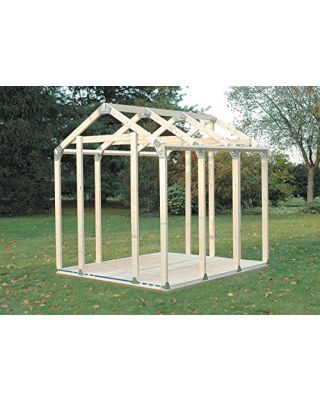 2x4 Basics Peak Roof Shed Kit