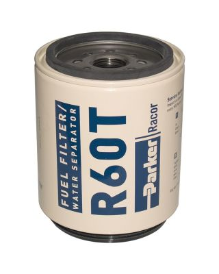 PARKER RACOR MARINE SPIN-ON FUEL FILTER ELEMENT R60T