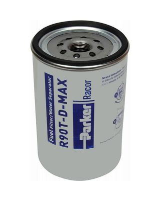 PARKER RACOR MARINE SPIN-ON FUEL FILTER ELEMENT R90P-D-MAX