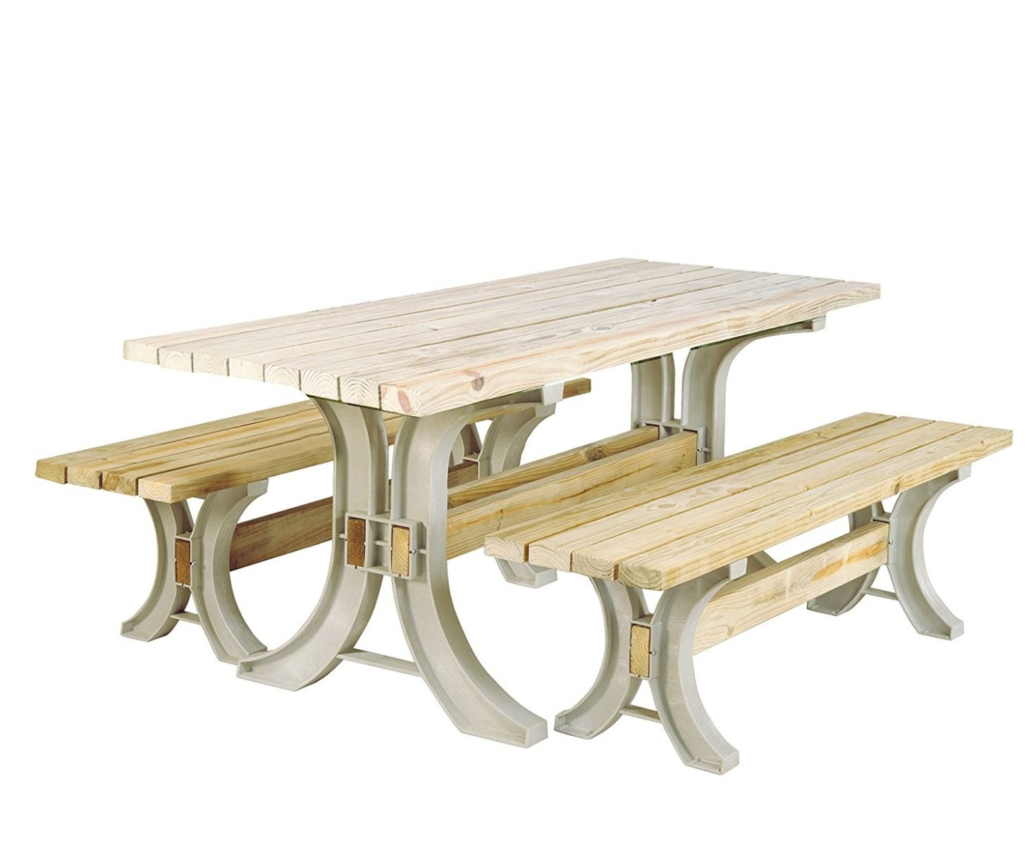 Fine Build Your Own 2X4 Basics Any Size Picnic Table And Bench Kit Sand 90182Mie Dailytribune Chair Design For Home Dailytribuneorg