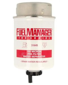 STANADYNE FUEL MANAGER FM100 FUEL FILTER ELEMENT 31649