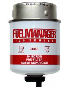 STANADYNE FUEL MANAGER FM100 FUEL FILTER ELEMENT 31863