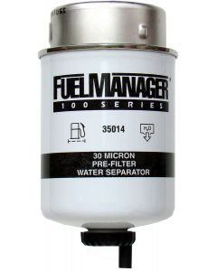 STANADYNE FUEL MANAGER FM100 FUEL FILTER ELEMENT 35014