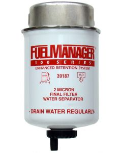STANADYNE FUEL MANAGER FM100 FUEL FILTER ELEMENT 39187