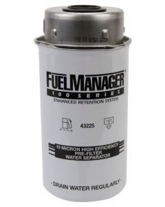 STANADYNE FUEL MANAGER FM100 FUEL FILTER ELEMENT 43225