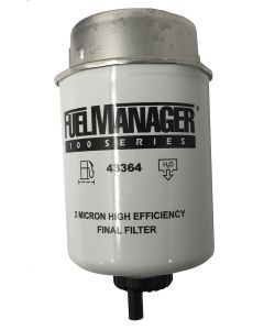 STANADYNE FUEL MANAGER FM100 FILTER ELEMENT (2 MIC) 43364