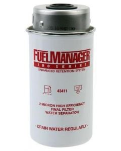 STANADYNE FUEL MANAGER FM100 FUEL FILTER ELEMENT 43411