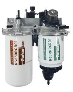 PARKER RACOR FUEL FILTER / WATER SEPARATOR ASSEMBLY WITH MANUAL PUMP AND AHI DOSING MODULE DRK00432