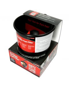 MR FUNNEL RFF8C FUEL FILTER - 5 GAL/MINUTE PETROL, DIESEL, HEATING OIL, KEROSENE