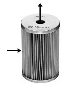 Delphi Diesel Fuel Filter HDF504