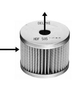 Delphi Diesel Fuel Filter HDF505