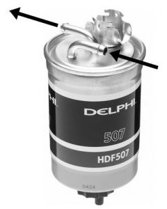 Delphi Diesel Fuel Filter HDF507