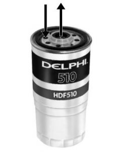 Delphi Diesel Fuel Filter HDF510