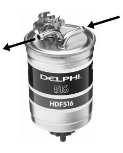 Delphi Diesel Fuel Filter HDF516