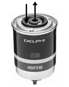 Delphi Diesel Fuel Filter HDF518
