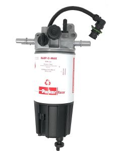 PARKER RACOR FUEL FILTER / WATER SEPARATOR ASSEMBLY WITH WIF WATER SENSOR AND HEATER MD5760DTV30RCR02